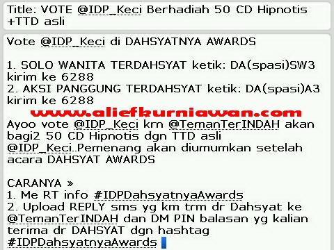 Vote IDP dahSyatnyaAwards2012