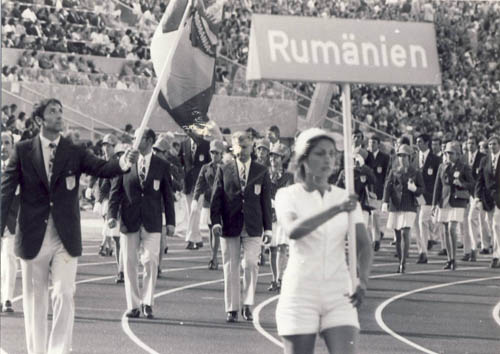 1972. Munich Olympics, the Romanian delegation
