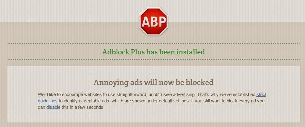Firefox mozilla adblock Plus