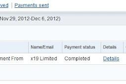 Bukti Pembayaran Adf.ly (Pembayaran Kesembilan)