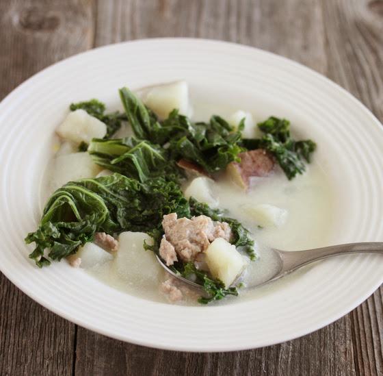Toscana Soup (Olive Garden Copycat) - Kirbie\'s Cravings
