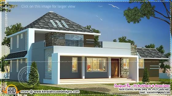 Contemporary mix home