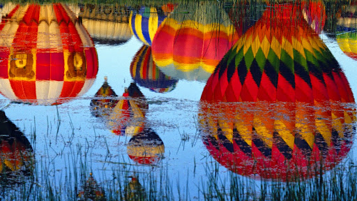 Reflections, Hot Air Balloon Festival, New Mexico.jpg