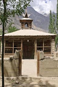 Historical Amburiq mosque, Shigar