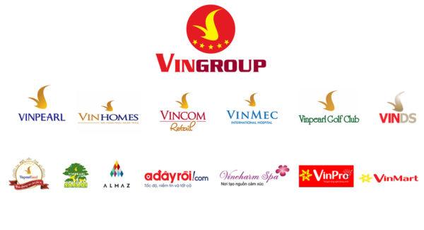 Danh sách thương hiệu tập đoàn VinGroup