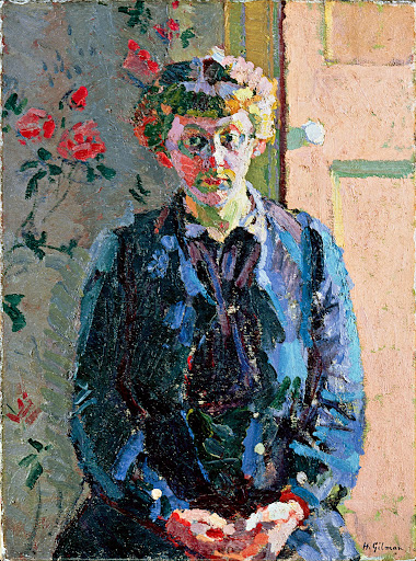 Harold Gilman - Sylvia Gosse 1913