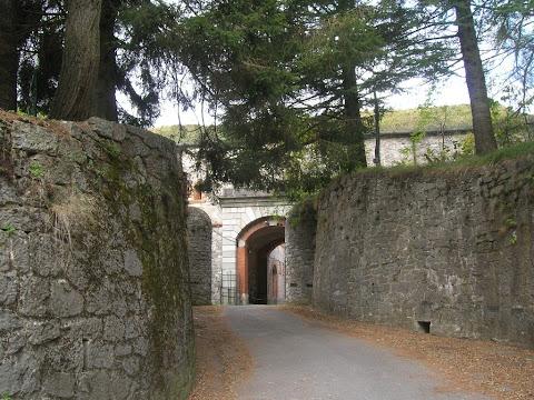 Accesso sud al Forte Centrale