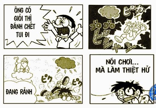 Doremon Chế: Nói Chơi Mà Làm Thiệt Hử