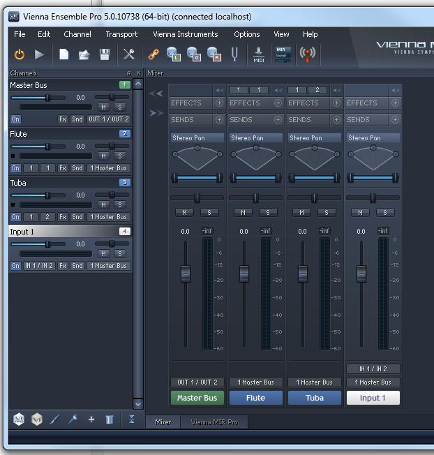 Sending Audio From Sonar To Vienna Ensemble Promir Cakewalk Forums