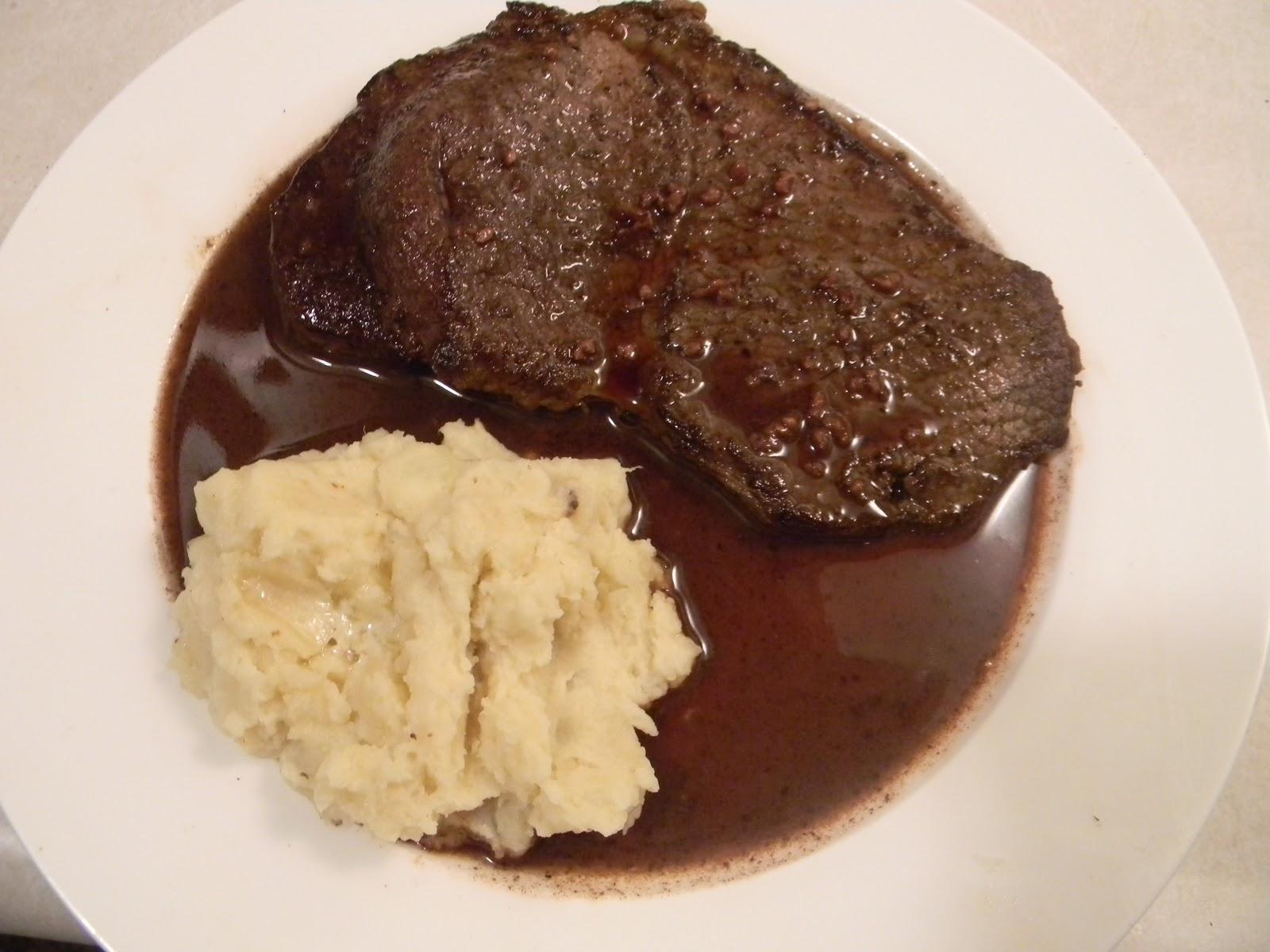 My Cooking Love Affair: Beef Up: Round Tip Steak in Red ...