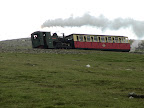 Eisenbahn zum Berggipfel