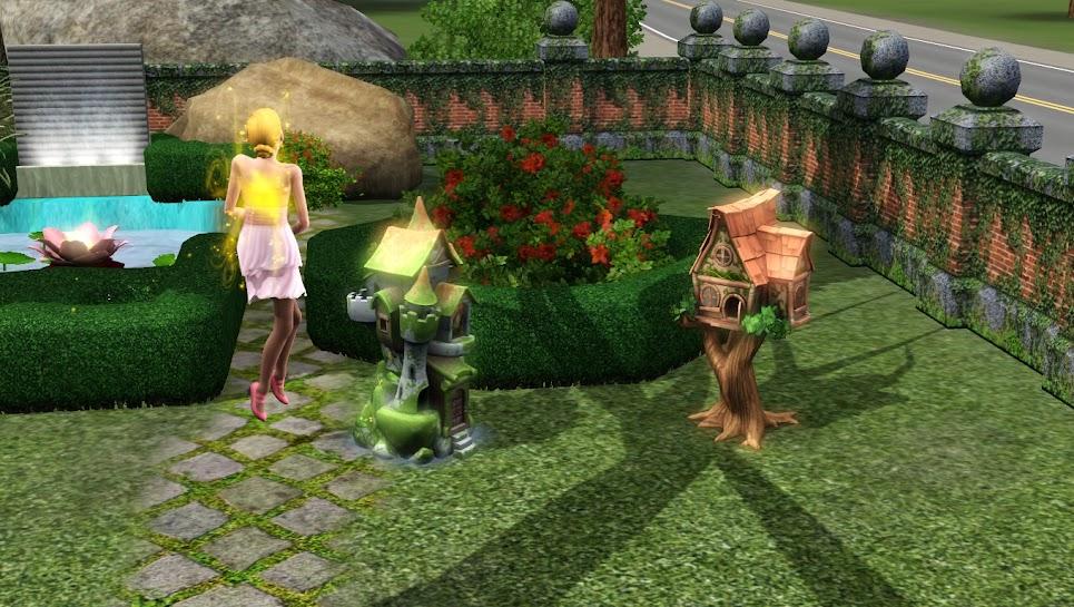 Симс 3: домик для феи