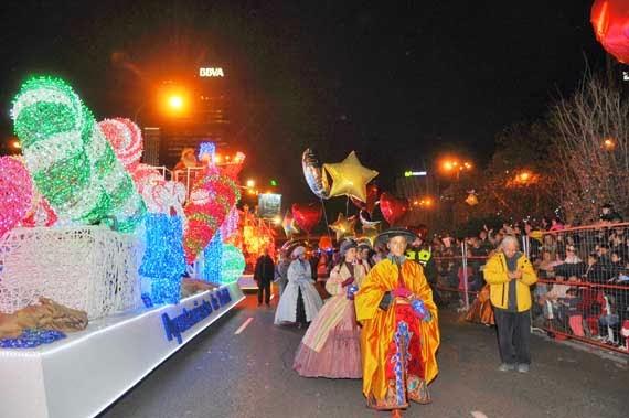 Cabalgatas de Reyes 2014 en los Distritos de Madrid