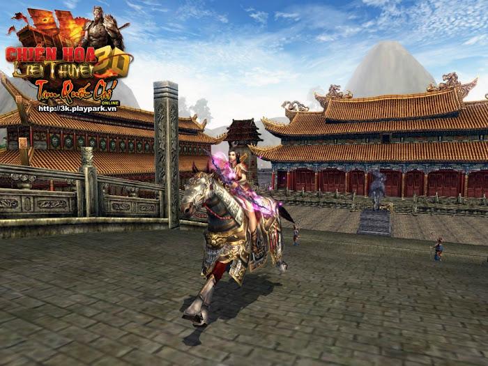 Một số hình ảnh đẹp về chiến mã trong Tam Quốc Chí 3D
