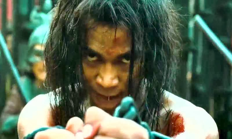 Screen Shot Of Hollywood Movie Ong Bak 3 (2010) In Hindi English Full Movie Free Download And Watch Online at Alldownloads4u.Com