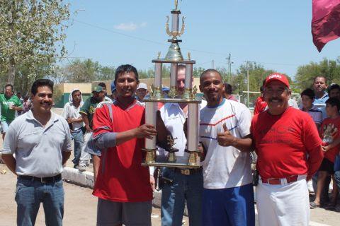 T-800, tercer lugar de segunda fuerza de la Liga Municipal de Futbol Soccer