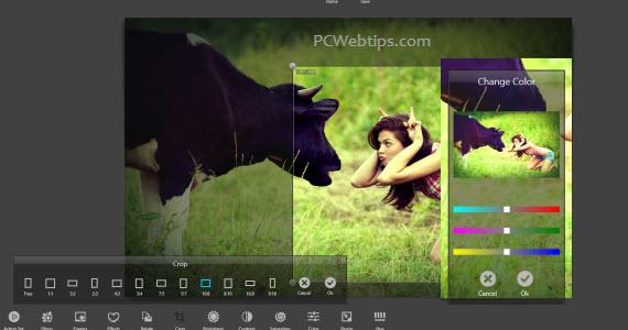 Como editar fotos en windows 8 app efectos filtros for Editar fotos efectos