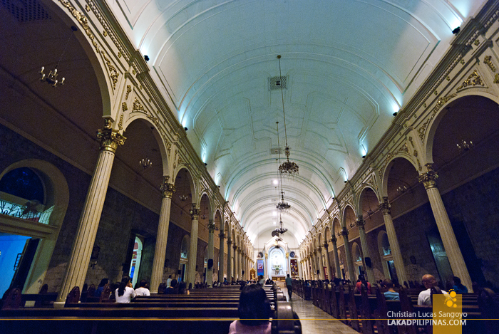 The Interiors of Bacolod City's San Sebastian Cathedral