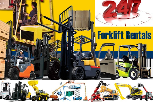 Premium Forklift rental services 24/7