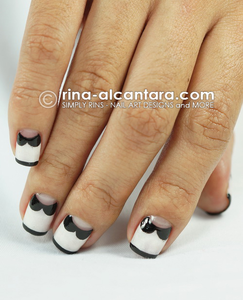 Collared Nails Nail Art Design