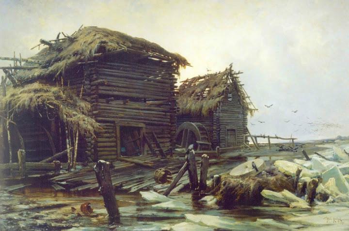 Julius Sergius von Klever - Abandoned Mill