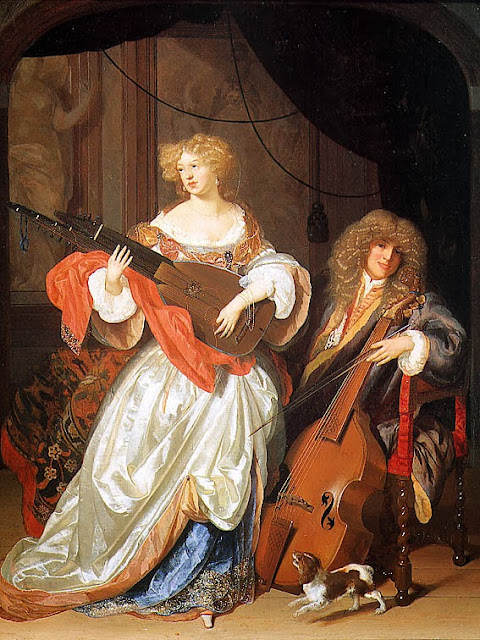 Adriaen van der Werff - Music-Making Couple