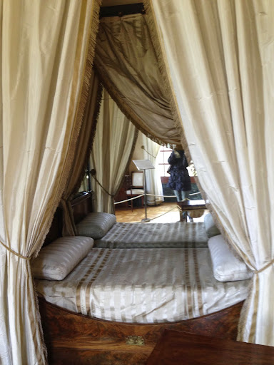 Empress Josephine's bed, Malmaison. From 100 Places in France Every Woman Should Go