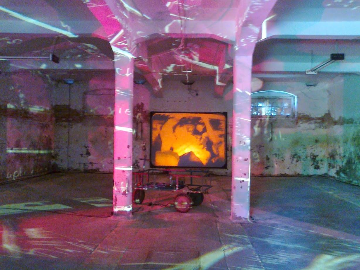 Raumkunst auf der Kunstausstellung Ostrale Dresden