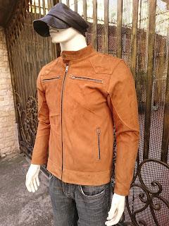 áo khoác da lộn nam thời trang cao cấp