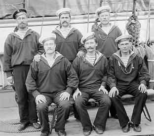Российские моряки