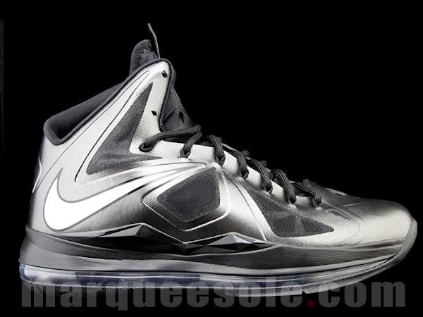 Preview of the Nike LeBron X Black  Anthracite 8220Black Diamond8221