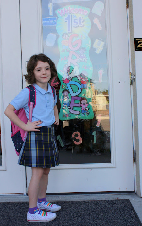 Photos of the First Day of School
