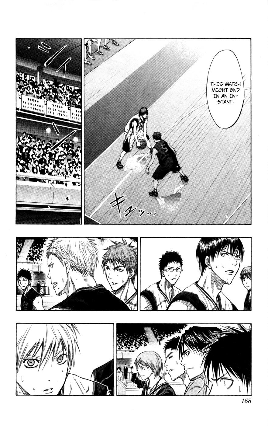 Kuroko no Basket Manga Chapter 117 - Image 3_168