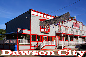 Click for our Dawson City  travel pics