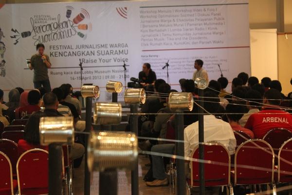 Festival Jurnalisme Warga Kencangkan Suaramu