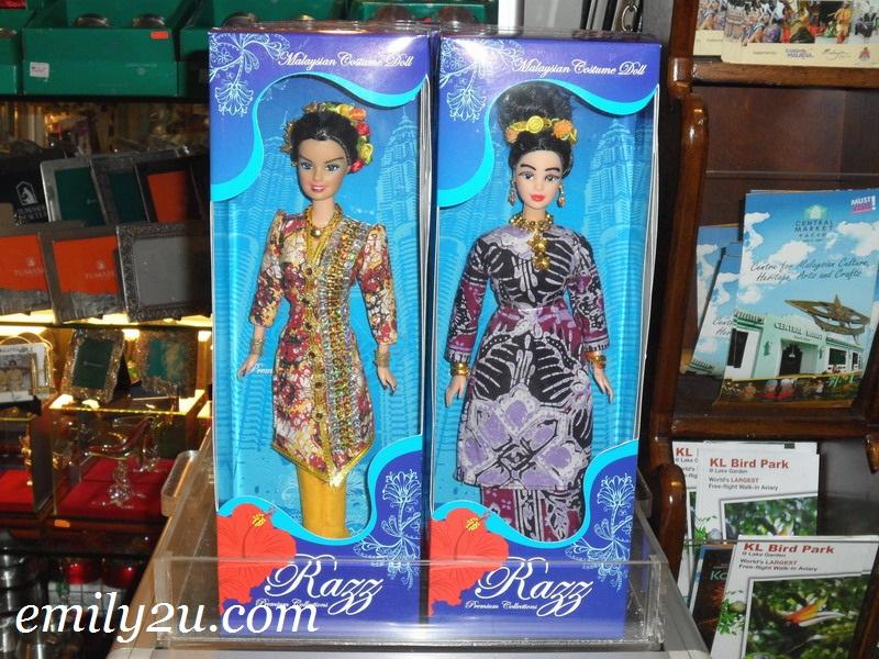 Malaysian costume doll