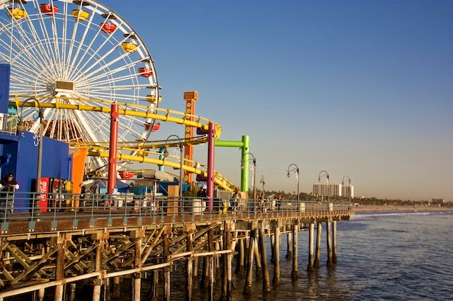 Los Angeles: Santa Monica Pier y Venice Beach