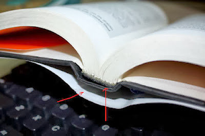 Đóng cuốn dạng Lay-flat Binding (2 bìa, 1 bìa thật, 1 bìa giả)