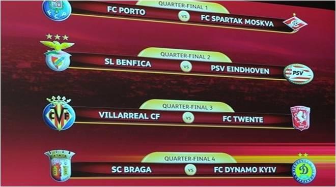 Image Result For Sorteio Liga Europa Quartos Final