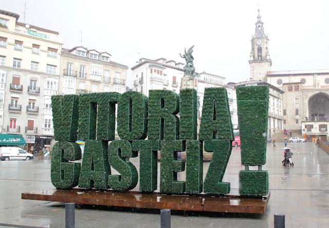 Jardín vertical de Vitoria