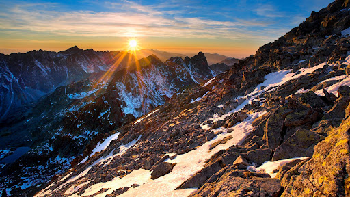 Tatra Mountains at Sunrise, Poland.jpg
