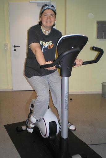 """в """"фитнес-комнате"""" отеля"""