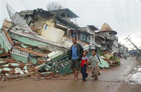 Dampak Gempa Bumi