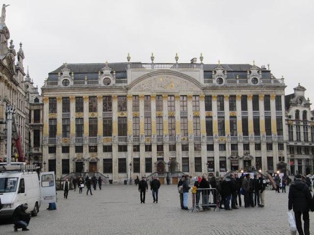 Maison des Ducs de Brabant, grand place bruselas, grotte markt