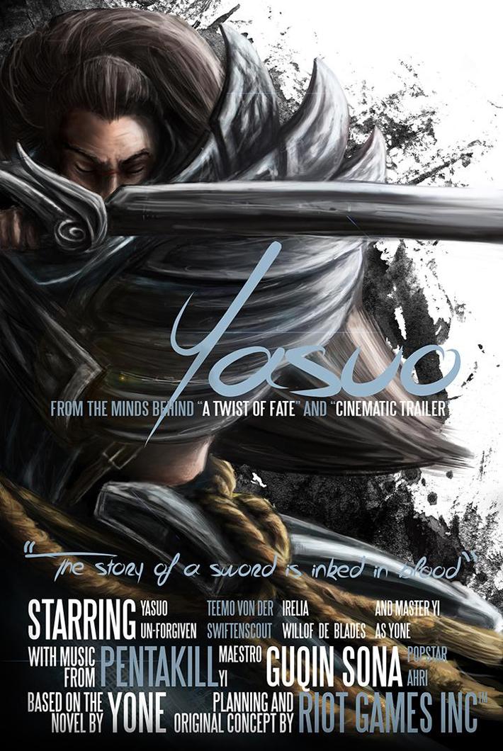 LMHT: Loạt fan art tuyệt đẹp về Yasuo - Ảnh 8