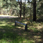 Sign to Colin Watters Lookout (234578)