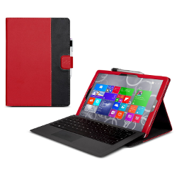 Manvex Leather Case for the NEW Microsoft Surface PRO 3 Tablet