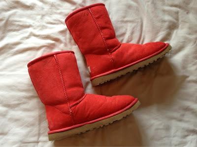 Sammi Jackson - Coral Ugg Boots