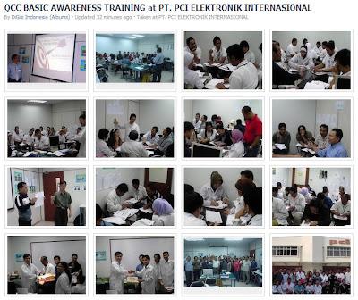 qcc training at PT. PCI
