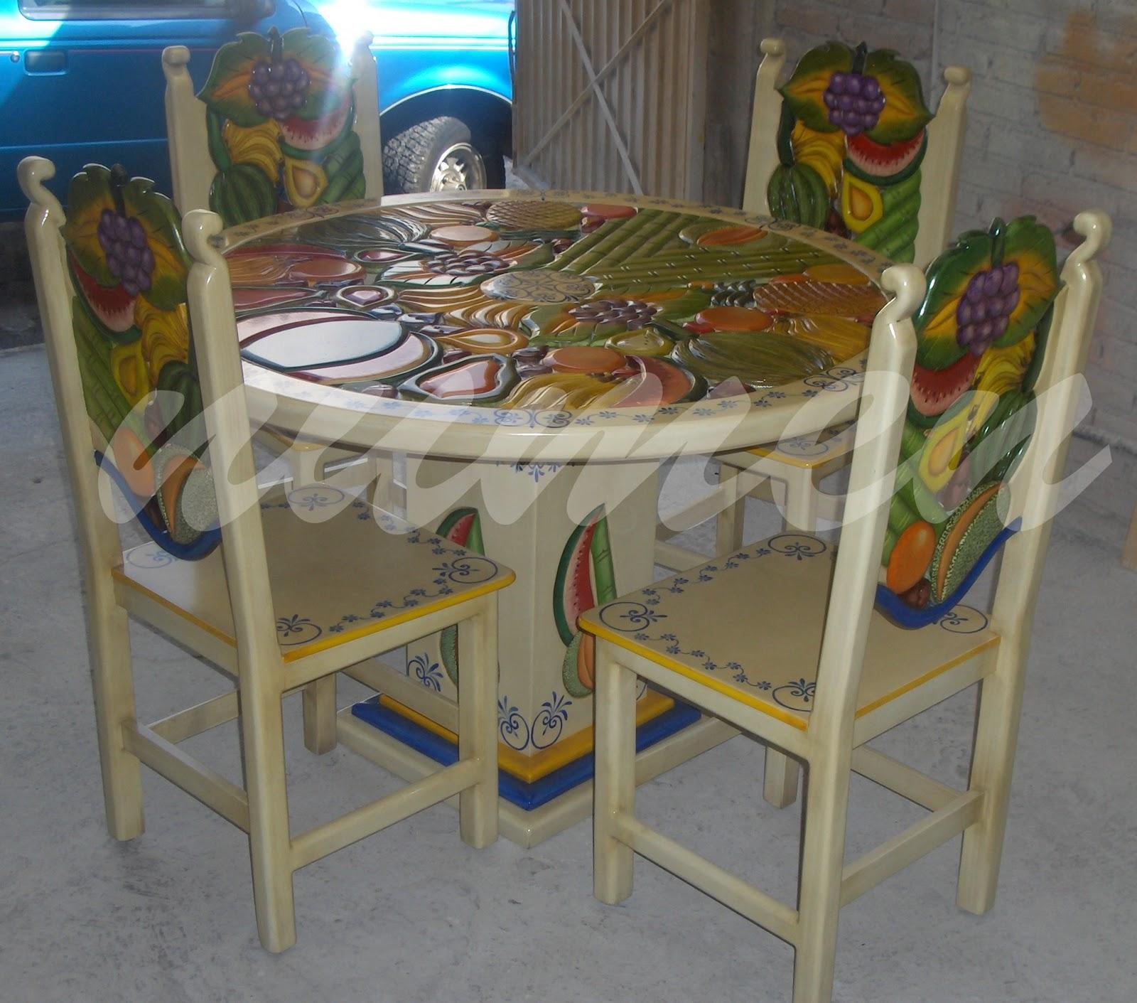 Numenart comedor talavera 4 sillas - Muebles talavera ...